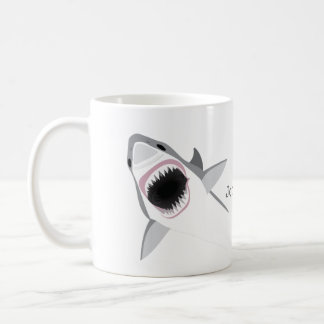 Shark Attack with Your Name Coffee Mug