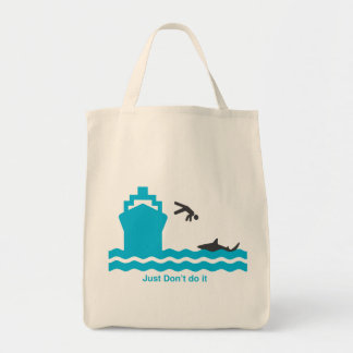 Shark Awareness, it saves lives. Tote Bag