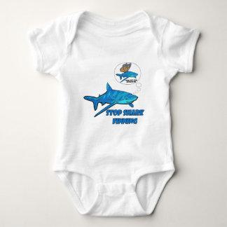 Shark Baby Bodysuit