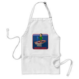 Shark Bait Adult Apron