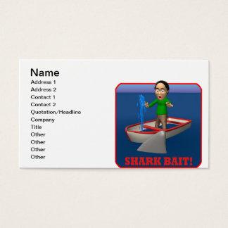 Shark Bait Business Card