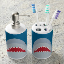 Shark Bath Set