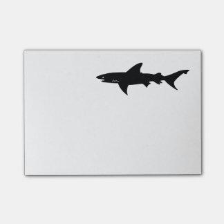 Shark  Beware of Sharks Drawing Post-it® Notes