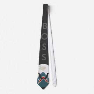 Shark Boss Neck Tie