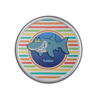 Shark Bright Rainbow Stripes Speaker