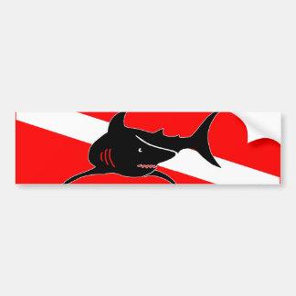 Shark Bumper Sticker Car Bumper Sticker