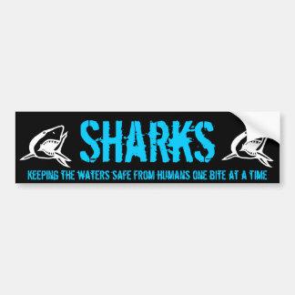 Shark Bumper v2 Bumper Sticker
