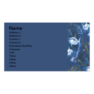 Shark Double-Sided Standard Business Cards (Pack Of 100)