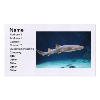 Shark Business Card
