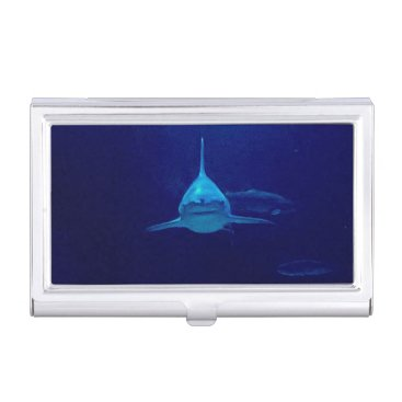 Professional Business Shark Business card holder