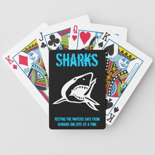 Shark Cards Bicycle Playing Cards