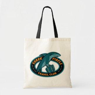 Shark Cirlce Travel Club Tote Bags