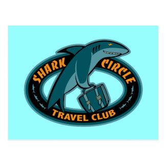 Shark Cirlce Travel Club Postcard