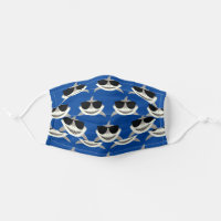 Shark Cloth Face Mask