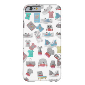 Shark Collage Barely There iPhone 6 Case