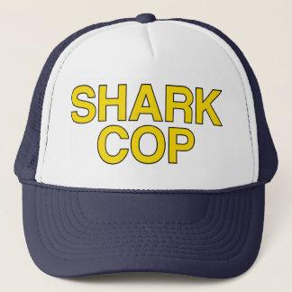 SHARK COP slogan hat