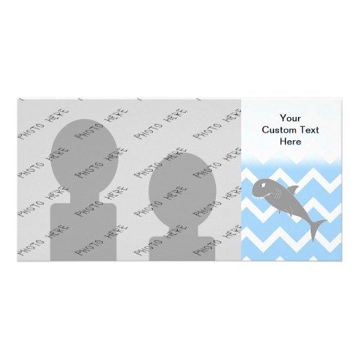 Shark. Custom Photo Card