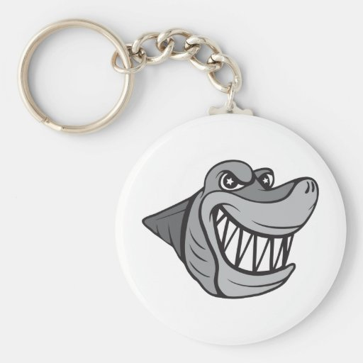 Shark!  Customizable! Key Chain