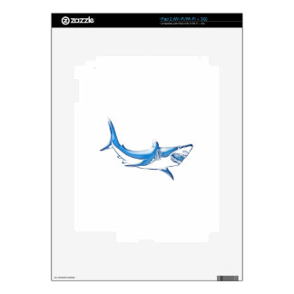 Shark Decal For The iPad 2