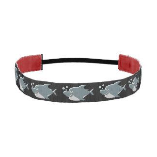 Shark Design Athletic Headband