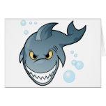 Shark Design Greeting Card