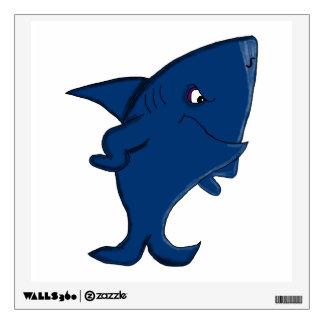 Shark design statonery wall decal