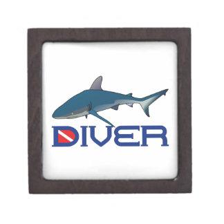 SHARK DIVER PREMIUM TRINKET BOX