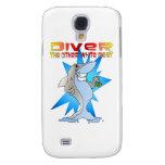 Shark eats Diver Galaxy S4 Cases