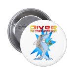 Shark eats Diver Pins