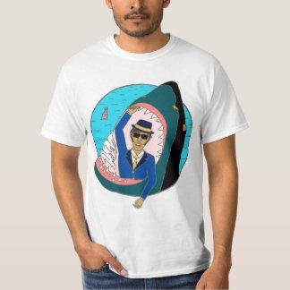 Shark Eats Man T Shirt