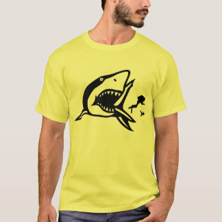 Shark Eats Scuba Diver T-Shirt