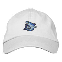Shark Embroidered Baseball Hat