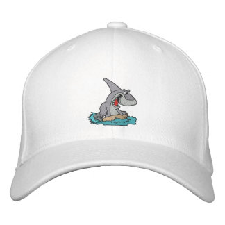 Shark Embroidered Cap