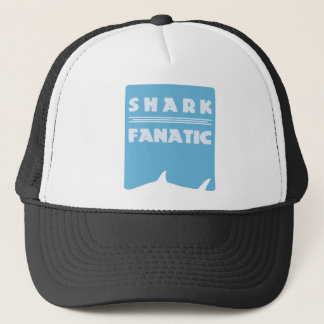 Shark fanatic trucker hat
