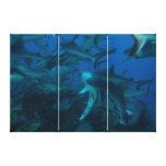 Shark Feed Canvas Print