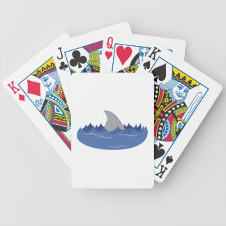 Shark Fin Bicycle Playing Cards