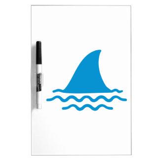 Shark fin Dry-Erase boards