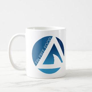 shark fin free food tricircles coffee mug