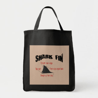 Shark Fin Identifier Tote Bag