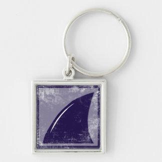 shark fin keychain