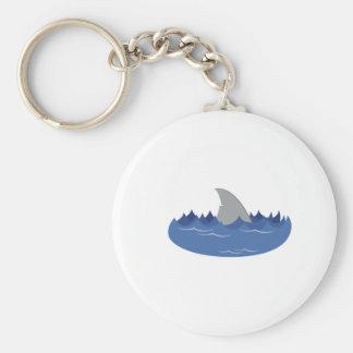 Shark Fin Keychains