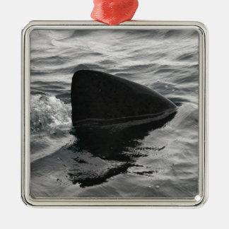 Shark Fin Metal Ornament