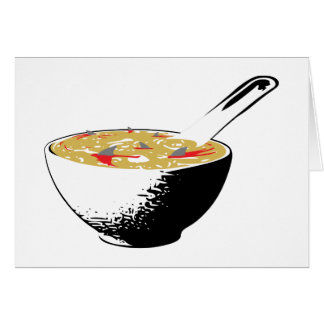 shark fin soup stationery note card