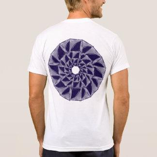 shark fins cool mandala shirt