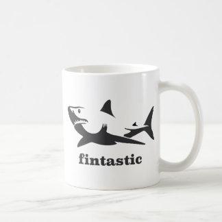 Shark - fintastic coffee mug