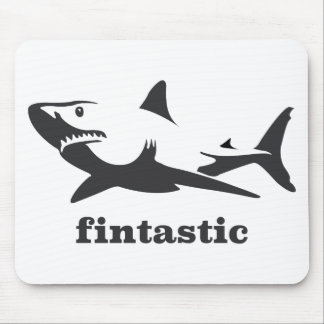 Shark - fintastic mouse pad