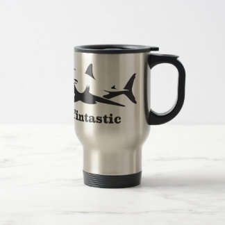 Shark - fintastic travel mug