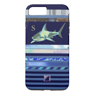 shark fish sea-animal blue-color iPhone 7 plus case