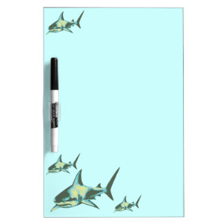 shark fish, wild animals Dry-Erase board