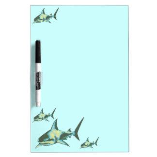 shark fish, wild animals Dry-Erase board